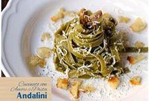 #Andalinilatuapasta / Ricette a noi dedicata da parte delle amatissime foodblogger e ai nostri fan affezionati!