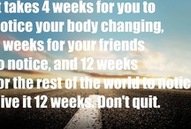 Motivation for a healthier lifestyle / by Margo