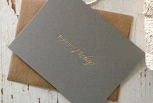 invites.stationary.paper love!* / by Layne Pfliiger