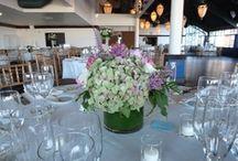 Flowers in Wedding Receptions