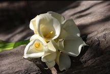Monochromatic Bridal Bouquets