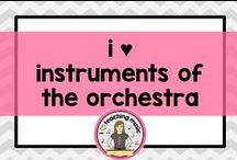i ♥ instruments of the orchestra