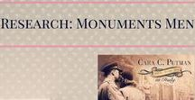 Research: Monument's Men -- Shadowed by Grace / While writing Shadowed by Grace, I delved into the Monuments Men, an elite group of soldiers tasked with saving Western Civilization. Here area  few of my research links. #WWII #Italy #Germany #Nazi #Art #MonumentsMen