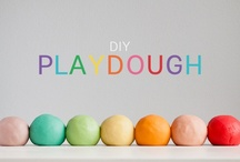 Playdough and sensory play / by Lucy Giffen