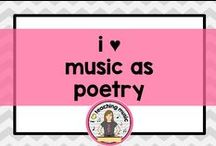 i ♥ music as poetry