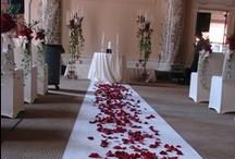 Bridal Ceremony Flower Decor