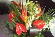 Tropical & Exotic Flower Displays