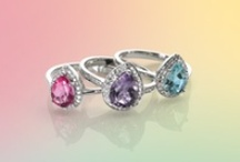 All About Colour  / Pastels are set to become THE summer trend of 2013, and here at Goldsmiths we have just launched a stunning Pastel Collection of beautifully crafted rings, earrings and pendants all made up from semi-precious gem stones.