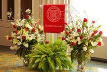 Cornell University Flower Decor