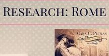 Research: Rome WWII -- Shadowed by Grace / Research photos for Monuments Men and Shadowed by Grace. #WWII #Italy #Germany #Nazi #Art #MonumentsMen #Rome