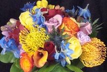 Multicolored Bridal Bouquets