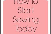 Sew Into You / Learning to sew, basic projects.