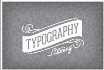 Typography / by Jen Dicou