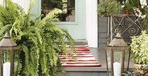 {Home} Pretty Porches / Make a good first impression!