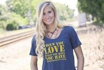 Christian Apparel | Women / Cute and comfortable clothes that spread the Christian message.  / by Mardel Christian and Education