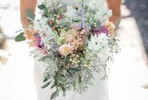 Floral / Decor Ideals / Wedding florals - mint, peach, lavender / by Melissa Uselton