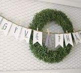 {Crafty} Banners & Bunting / Printable and DIY banners and buntings for seasonal decor.