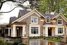 Home Sweet Home / Pictures of Beautiful exterior and interior home design. / by Andrea Wright