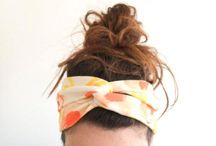 ~ Sewing - DIY Headbands ~