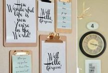 DIY home inspirations / DIY, House decor, things to try