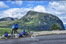 Western Fjords - Norway / Bicycle touring through Western Fjords in Norway.