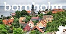 Bornholm - Denmark / Bicycle touring around the Bornholm island, Denmark.