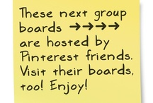 ➜ ➜ FRIENDS ➜ ➜  / These next boards belong to other  pinners. Check them out, too!