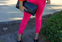 Color Jeans Crazy! / My many looks with my color jeans! / by Fashion.MakeUp.LifeStyle