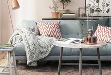 Living Room | Home Decor / Living Room Home Decor Ideas | Bright and White House Inspiration