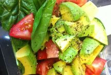 Comida / Mostly Fresh/Farmer's Market Summer Salad Ideas!  (Other recipes I can find online at-will!) / by Kristi Postema