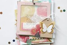 ~ Scrapbooking - Mini Albums IDEAS ~