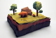 3D - LowPoly / by Marco Secchi