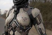 3D - SciFi Suits / by Marco Secchi