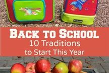 Back to School / Tips to get your little one (and yourself) ready for school.