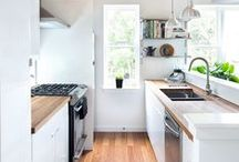 Kitchen | Home Decor / Kitchen Home Decor | Bright and White Styled Kitchen Ideas and Inspiration