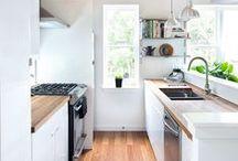Kitchen | Home Decor / Kitchen Home Decor | Bright and White Styled Kitchen Ideas and Inspiration