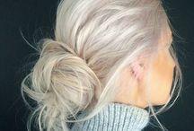 going blonde?