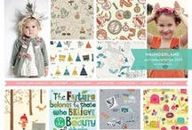 KIDS FASHION TREND / Coulor Pallet and Mood Board Trend / by Priscilla Murakami