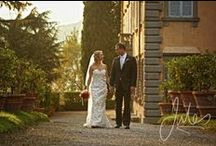 Weddings in Tuscany / Here is a selection of my favourite Tuscania Event weddings. From quaint medieval villages to open tuscan fields the photo opportunities are endless.