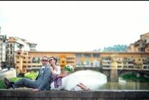 Real Weddings in Florence / Here are just a few couples who chose the city of Florence to celebrate their special day.