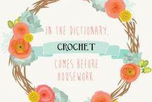 Cro-sane / Crochet inspiration.