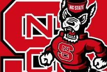 I Bleed RED for the Pack / Attending NC State games have been a family tradition since I have been born. It is simply-A-B-C (Anybody BUT Carolina)! / by Marilyn Waddell-Agnew