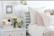 Home Interiors / #home #dressing table #make up storage #pretty