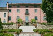 Tuscan Villas / Spectacular villas in Tuscany to celebrate a special wedding
