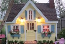 Home- Outdoor Spaces Playhouse / by Jeanette Brinkerhoff
