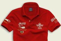Poloshirt JAHU' / Dedicated to the Aeroplane SAVOIA S55 JAHU'