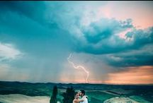 Tuscan Wedding in the Rain! / No one wants rain on their wedding day but as they say here in Italy....'sposa bagnata, sposa fortunate' (a wet bride is a lucky bride). Here are some beautiful Tuscania Event weddings in the rain.