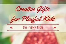 Gifts for Playful Kids & Families / Suggestions, inspiration and resources for creative and playful gifts. Ideas for indoor, outdoor and screen-free play, featuring the best games and toys for kids and families.