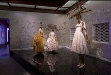 "China: Through the Looking Glass / ""China: Through the Looking Glass,"" on view through September 7, organized by The Costume Institute in collaboration with the Department of Asian Art, explores how China has fueled the fashionable imagination for centuries, resulting in highly creative distortions of cultural realities and mythologies. High fashion will be juxtaposed with Chinese costumes, paintings, porcelains, and other art, as well as films, to reveal enchanting reflections of Chinese imagery. #ChinaLookingGlass"