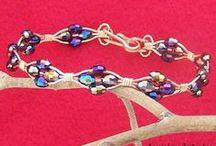 A JewelryArtistry Original / Top Quality handmade wire wrapped & beaded jewelry. / by JoAnne McClure